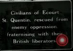 Image of Battle of Hindenberg Line France, 1918, second 1 stock footage video 65675024096