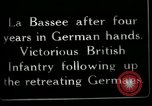 Image of Battle of Hindenberg Line France, 1918, second 2 stock footage video 65675024099
