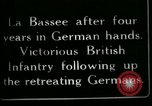Image of Battle of Hindenberg Line France, 1918, second 3 stock footage video 65675024099