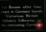 Image of Battle of Hindenberg Line France, 1918, second 4 stock footage video 65675024099