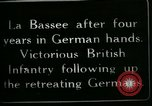 Image of Battle of Hindenberg Line France, 1918, second 5 stock footage video 65675024099