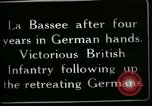 Image of Battle of Hindenberg Line France, 1918, second 6 stock footage video 65675024099