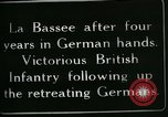 Image of Battle of Hindenberg Line France, 1918, second 7 stock footage video 65675024099