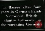 Image of Battle of Hindenberg Line France, 1918, second 8 stock footage video 65675024099