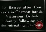 Image of Battle of Hindenberg Line France, 1918, second 9 stock footage video 65675024099