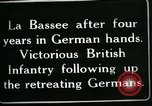 Image of Battle of Hindenberg Line France, 1918, second 10 stock footage video 65675024099