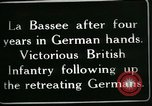 Image of Battle of Hindenberg Line France, 1918, second 11 stock footage video 65675024099
