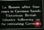 Image of Battle of Hindenberg Line France, 1918, second 12 stock footage video 65675024099