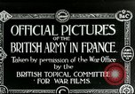 Image of Royal Field Artillery France, 1918, second 1 stock footage video 65675024100