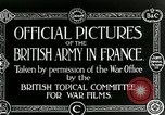 Image of Royal Field Artillery France, 1918, second 2 stock footage video 65675024100