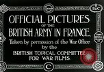 Image of Royal Field Artillery France, 1918, second 3 stock footage video 65675024100