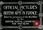 Image of Royal Field Artillery France, 1918, second 5 stock footage video 65675024100