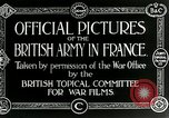 Image of Royal Field Artillery France, 1918, second 6 stock footage video 65675024100