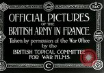 Image of Royal Field Artillery France, 1918, second 7 stock footage video 65675024100