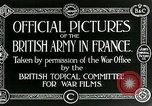 Image of Royal Field Artillery France, 1918, second 9 stock footage video 65675024100