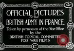 Image of Royal Field Artillery France, 1918, second 11 stock footage video 65675024100