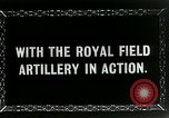 Image of Royal Field Artillery France, 1918, second 12 stock footage video 65675024100