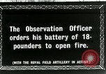 Image of Royal Field Artillery France, 1918, second 1 stock footage video 65675024101