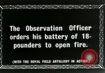 Image of Royal Field Artillery France, 1918, second 2 stock footage video 65675024101