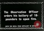 Image of Royal Field Artillery France, 1918, second 4 stock footage video 65675024101