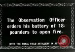 Image of Royal Field Artillery France, 1918, second 5 stock footage video 65675024101