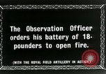 Image of Royal Field Artillery France, 1918, second 7 stock footage video 65675024101