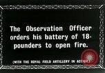 Image of Royal Field Artillery France, 1918, second 8 stock footage video 65675024101