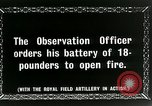 Image of Royal Field Artillery France, 1918, second 9 stock footage video 65675024101