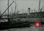 Image of Army Transport Service Piers in Hoboken New Jersey Hoboken New Jersey USA, 1918, second 5 stock footage video 65675024105