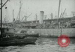 Image of Army Transport Service Piers in Hoboken New Jersey Hoboken New Jersey USA, 1918, second 7 stock footage video 65675024105