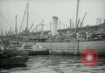 Image of Army Transport Service Piers in Hoboken New Jersey Hoboken New Jersey USA, 1918, second 11 stock footage video 65675024105