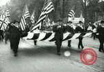 Image of Ford patriotic rally Dearborn Michigan  USA, 1917, second 2 stock footage video 65675024111