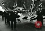 Image of Ford patriotic rally Dearborn Michigan  USA, 1917, second 4 stock footage video 65675024111