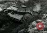Image of Ford  M1918  tank gets stuck during testing Dearborn Michigan USA, 1918, second 6 stock footage video 65675024112