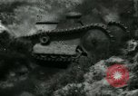 Image of Ford  M1918  tank gets stuck during testing Dearborn Michigan USA, 1918, second 10 stock footage video 65675024112