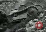 Image of Ford  M1918  tank gets stuck during testing Dearborn Michigan USA, 1918, second 11 stock footage video 65675024112