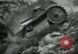Image of Ford  M1918  tank gets stuck during testing Dearborn Michigan USA, 1918, second 12 stock footage video 65675024112