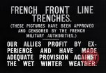 Image of French trenches in the front lines France, 1918, second 11 stock footage video 65675024139