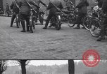 Image of Belgian Motor Cycle Corps Paris France , 1915, second 4 stock footage video 65675024142