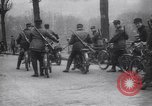 Image of Belgian Motor Cycle Corps Paris France , 1915, second 5 stock footage video 65675024142