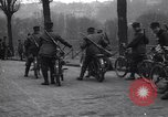 Image of Belgian Motor Cycle Corps Paris France , 1915, second 6 stock footage video 65675024142