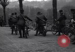 Image of Belgian Motor Cycle Corps Paris France , 1915, second 7 stock footage video 65675024142