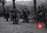 Image of Belgian Motor Cycle Corps Paris France , 1915, second 9 stock footage video 65675024142
