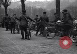 Image of Belgian Motor Cycle Corps Paris France , 1915, second 10 stock footage video 65675024142