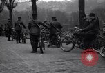 Image of Belgian Motor Cycle Corps Paris France , 1915, second 12 stock footage video 65675024142