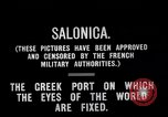 Image of World War I Salonica Greece, 1915, second 1 stock footage video 65675024150