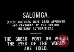Image of World War I Salonica Greece, 1915, second 2 stock footage video 65675024150
