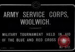 Image of Army Service Corps Woolwich London England, 1916, second 4 stock footage video 65675024158