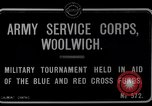 Image of Army Service Corps Woolwich London England, 1916, second 5 stock footage video 65675024158