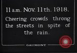 Image of Armistice Day London England United Kingdom, 1918, second 2 stock footage video 65675024160